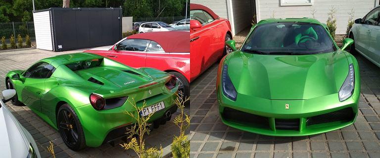 Mielno. Skradziono luksusowe Ferrari. Pojazd wart jest ponad 1,5 miliona zł