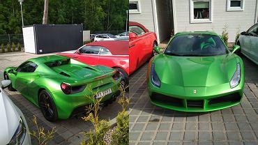Skradzione Ferrari 488 GTB fot. Car Spotting Zachodniopomorskie
