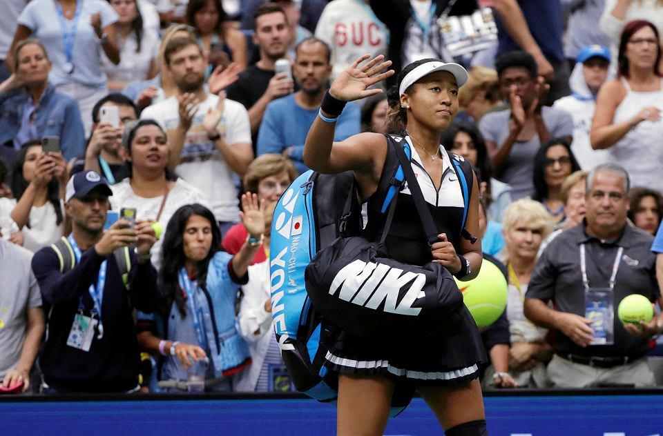 Naomi Osaka przegrała z Belindą Bencic w IV rundzie US Open
