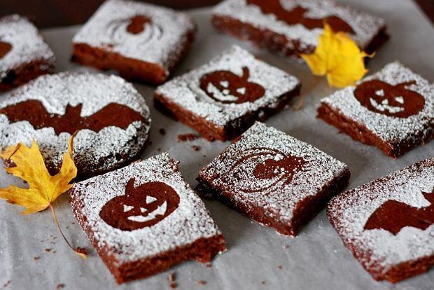 Brownie na Halloween - przepis na strasznie pyszny deser