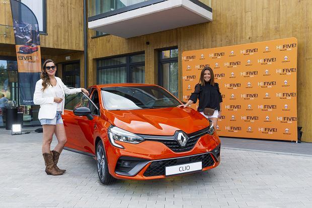 Na prezentacji Clio 5 w okolicach Karpacza pojawiły się ambasadorki marki - Aleksandra Nieśpielak i Katarzyna Glinka