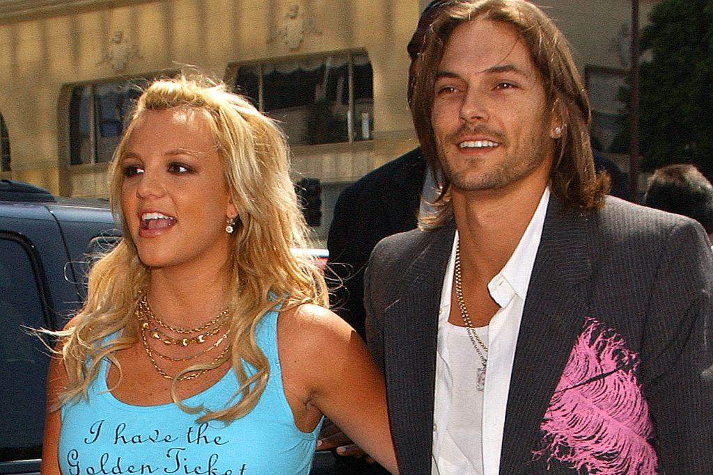 Spears Britney i Kevin Federline