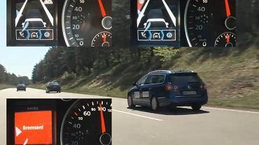 Volkswagen Passat HAVEit z systemem TAP (Temporary Auto Pilot)