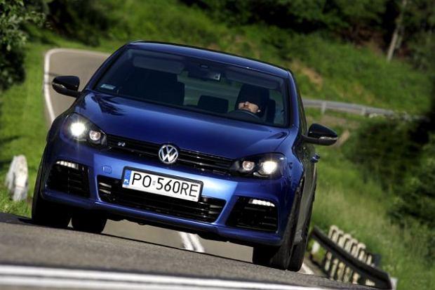 Volkswagen Golf R - test   Za kierownicą