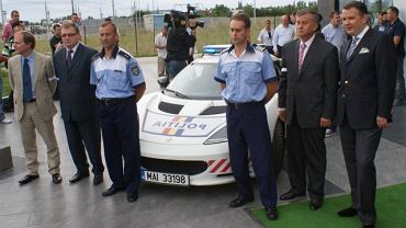 Lotus Evora S dla rumuńskiej policji