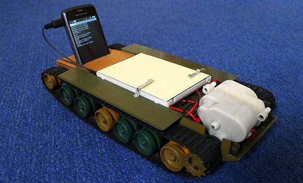 Robot-czołg