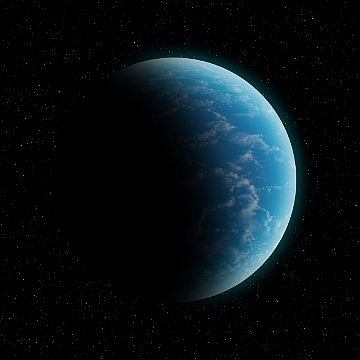 Egzoplaneta w całości pokryta oceanem