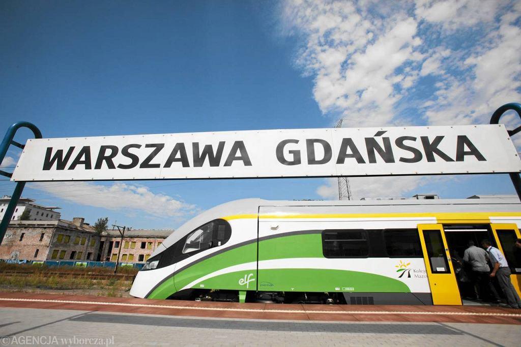 Nowe pociągi Elf Kolei Mazowieckich