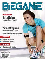 Numer wrzesień 2011 miesięcznika Bieganie