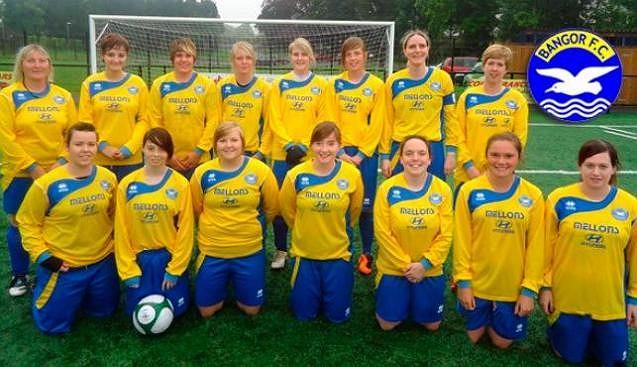 Żeńska drużyna Bangor F.C.