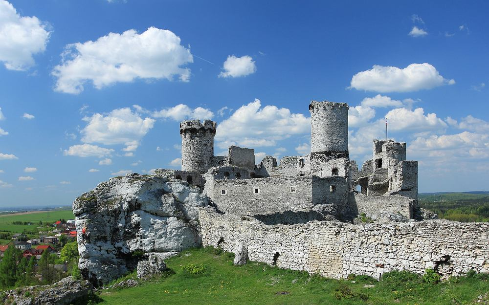 Ruiny Zamku Ogrodzeniec