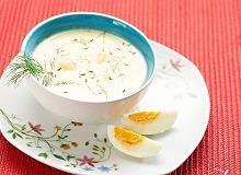Zupa maślankowa - ugotuj