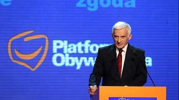 Jerzy Buzek na konwencji PO, 10.09.2011 r.