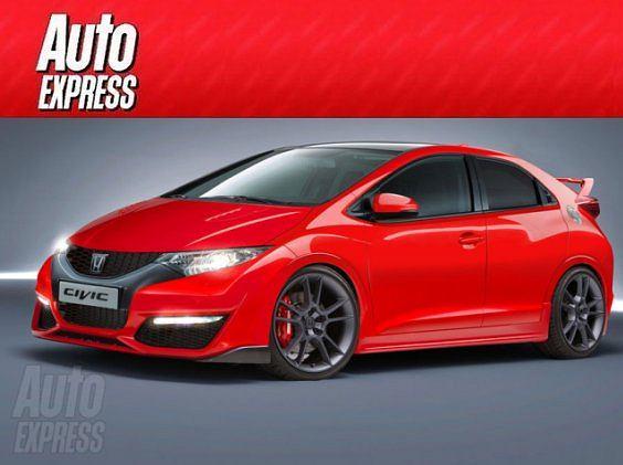 fot. autoexpress.co.uk, Poblete | Honda Civic Type-R 2013