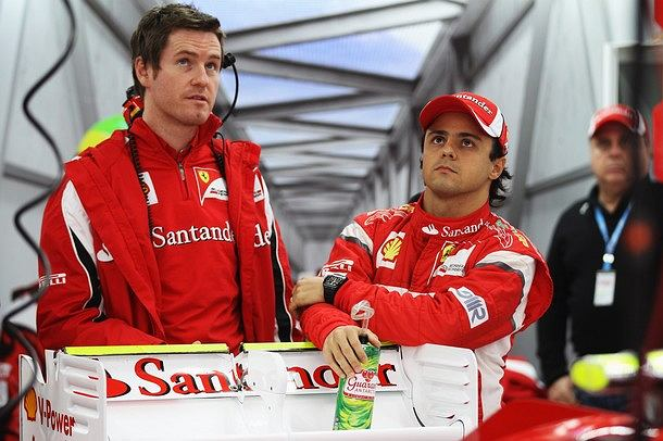 Rob Smedley i Felipe Massa