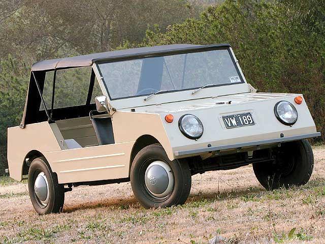 fot. vwtrendsweb.com | 1968 Volkswagen Country Buggy