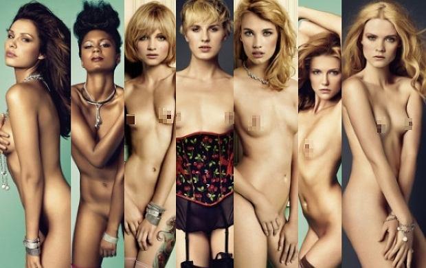 Young Hungarian Model Posing Nude