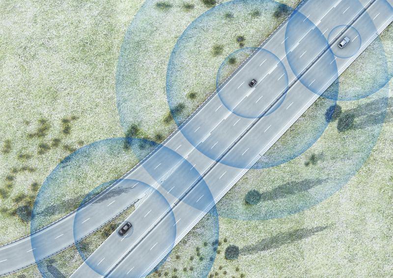 System inteligentnej komunikacji między pojazdami Car-to-X