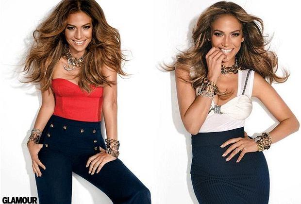 Zdjęcie numer 1 w galerii - J.Lo na okładce nowego Glamour
