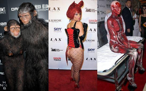 Gwiazdy w Stanach Zjednoczonych nie przegapiły jedynej okazji w roku, aby spełnić swoje dziwne fantazje i przebrać się za wymarzoną postać. Lub alter ego.