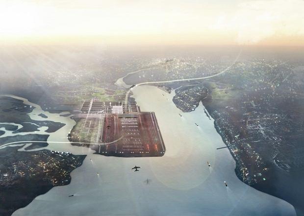 Lord Foster przedstawił plany nowego lotniska dla Wielkiej Brytanii - Thames Hub. Jeżeli projekt ten dojdzie do skutku, będzie to największe lotnisko świata. A także jeden z największych węzłów komunikacyjnych. Koszt budowy tego molocha ma wynieść ok. 50 miliardów funtów (255 miliardów złotych - zaledwie 58 mld mniej niż budżet Polski). Ponadto, cały kompleks miałby stanowić kręgosłup nowej, zintegrowanej sieci infrastrukturalnej kraju.