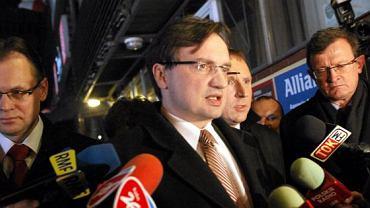 Arkadiusz Mularczyk, Zbigniew Ziobro, Jacek Kurski i Tadeusz Cymański