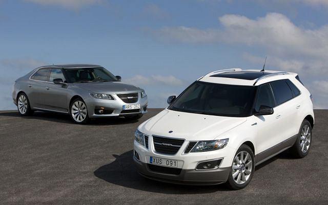 Saab 9-5 i Saab 9-4X