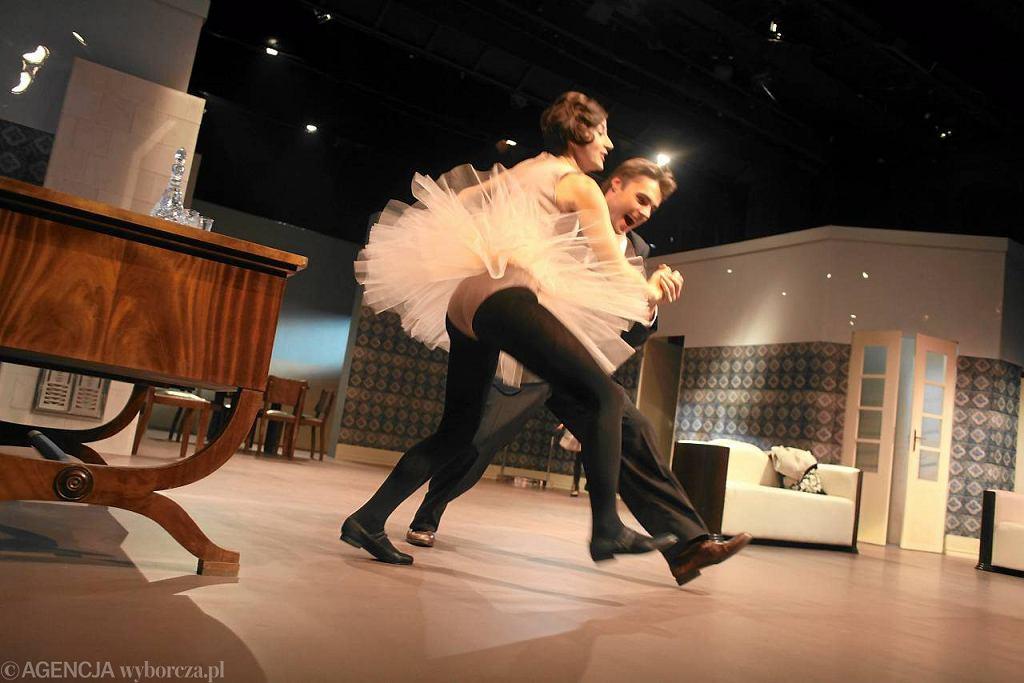 Próba 'Moralności pani Dulskiej' w Teatrze Współczesnym