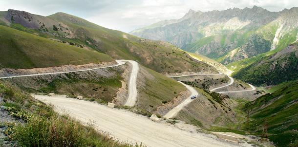 Tadżykistan, podróże, droga
