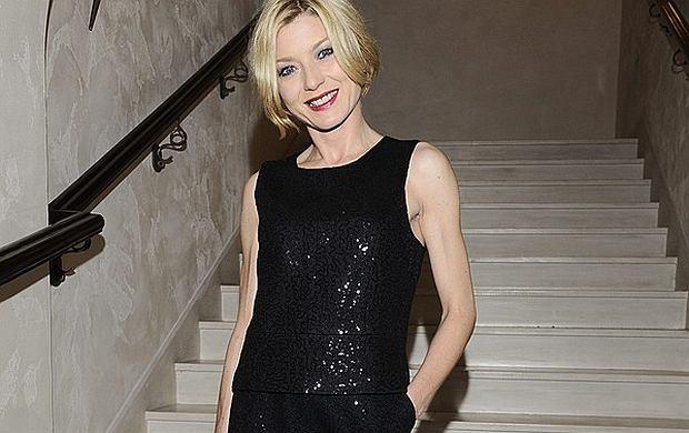 Aktorka Edyta Olszówka pojawiła się wczoraj na imprezie