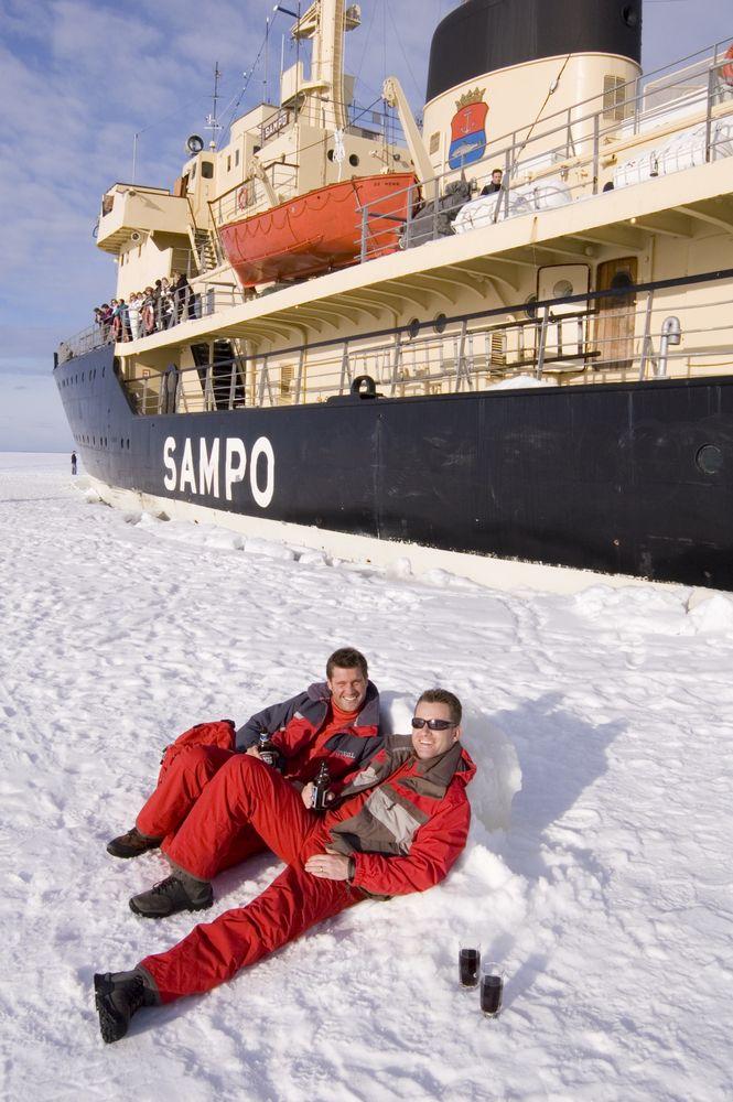 Turystyczny rejs lodołamaczem Sampo po Zatoce Botnickiej / fot. Shutterstock