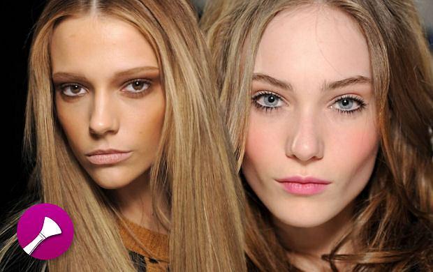 Makijaże na jesień i zimę z mediolańskiego tygodnia mody