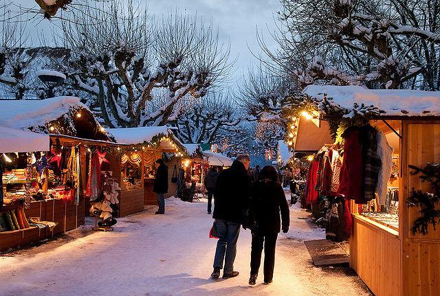Niemcy. Jarmark świąteczny w Dolnej Saksonii