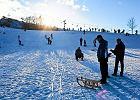 Otwarty trening narciarski na stoku Szczęśliwice