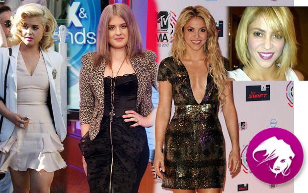 Kelly Osbourne i Shakira stawiają na metamorfozy