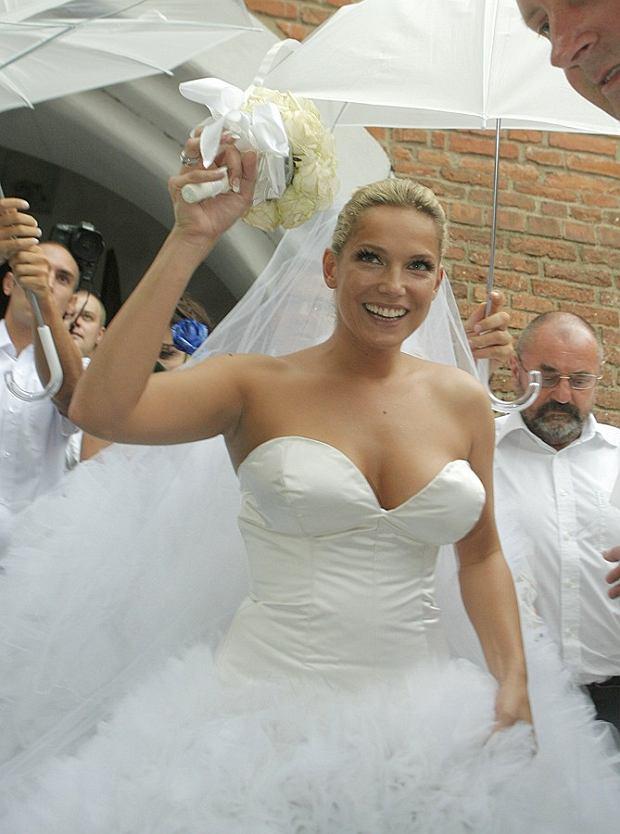 Joanna Liszowska, śluby gwiazd