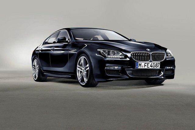 BMW 6 Gran Coupe z pakietem od M GmbH