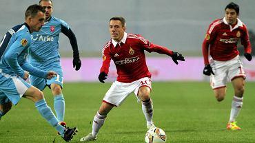 Wisła - Twente 2:1. Łukasz Garguła
