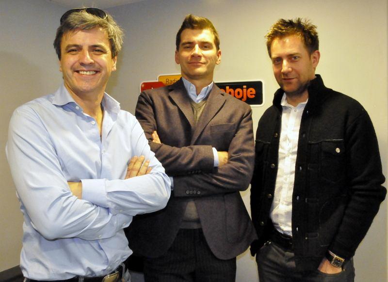 Piotr Polk, Tomasz Kammel, Rafał Królikowski