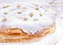 Bezowy tort z likierem - ugotuj