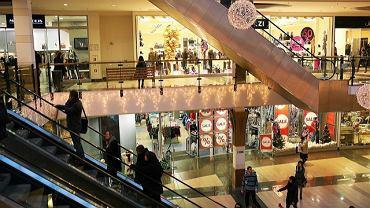 Centrum handlowe Alfa w Białymstoku tuż przed Wigilią 2011
