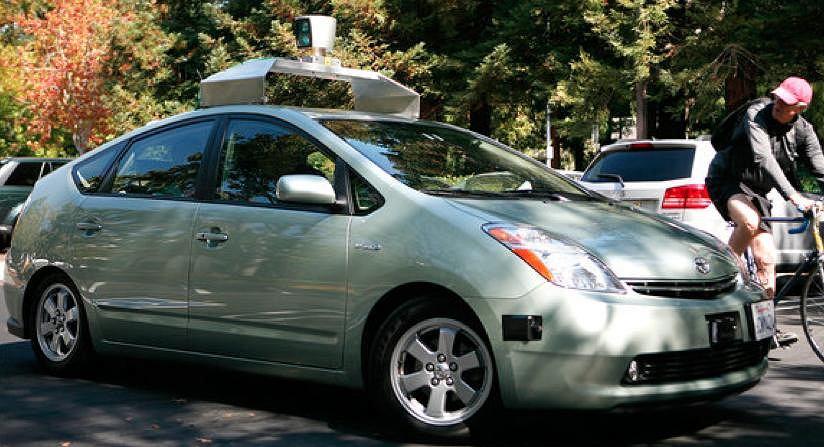 Automatyczny samochód Google, który nie potrzebuje kierowcy
