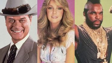 Heather Locklear, Mr. T, Larry Hagman.