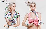Abbey Lee Kershaw - lookbook Versace Cruise dla H&M