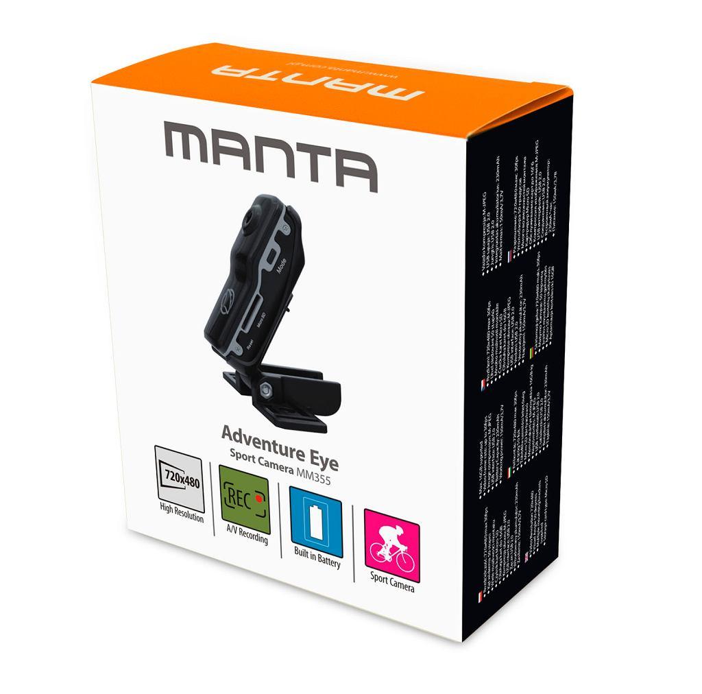 Manta - nowe opakowanie