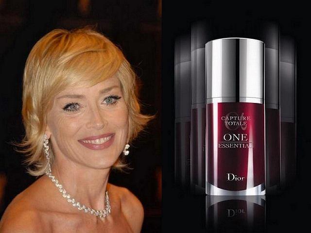 Odmłodzona Sharon Stone w nowej kampanii reklamowej Dior