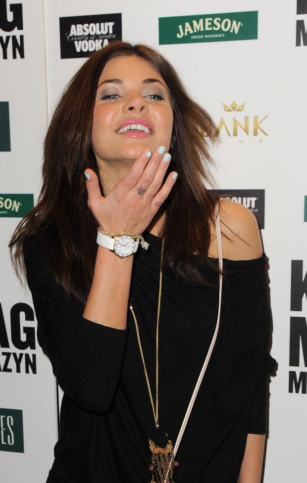 NZ. Dominika Wodzianka Zasiewska   3. urodziny magazynu K Mag, Wa-wa, 12.01.2012,   Fot.: Radoslaw NAWROCKI / FORUM