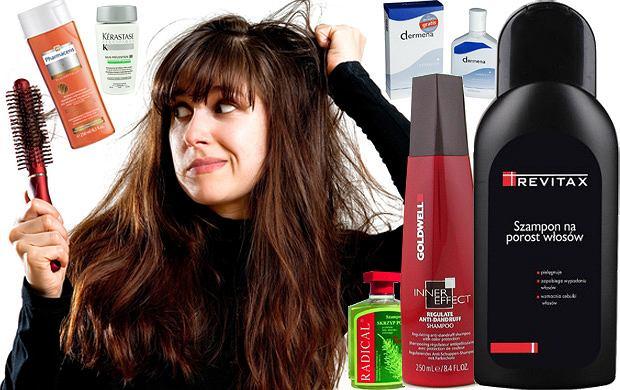 Szampony przeciw wypadaniu włosów