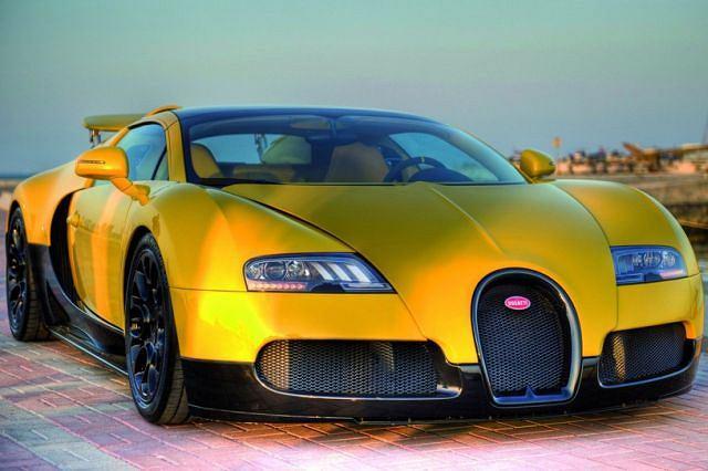 Bugatti Veyron Grand Sport w Katarze