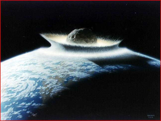 Uderzenie asteroida o Ziemię może być fatalne w skutkach